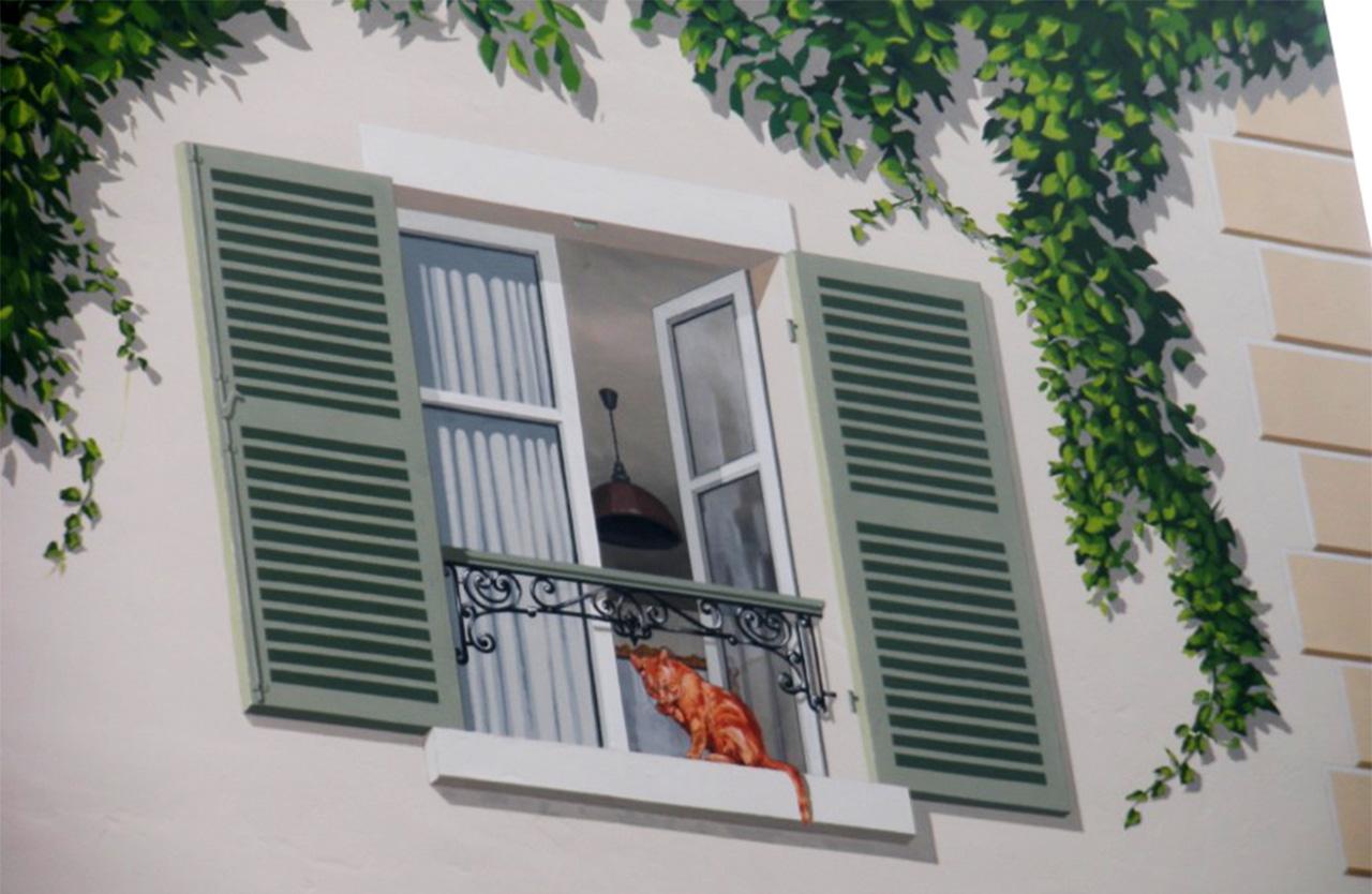 Artwork Peinture De Fresques Extérieures Pour Maison Et